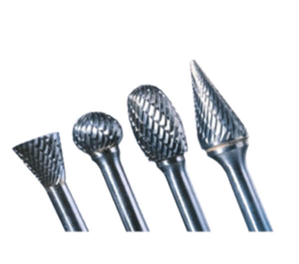 Double cut carbide burrs