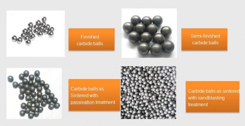 tungsten carbide milling balls